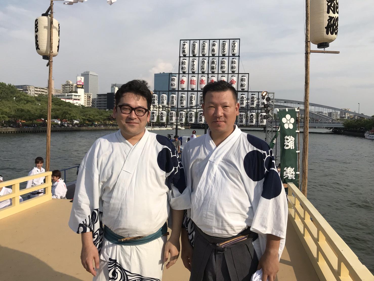 2018年7月25日 天神祭 船渡御 能船
